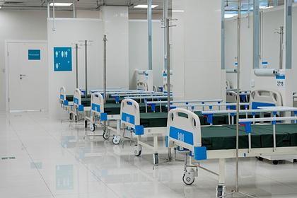 В Москве начали выводить из резерва койки для больных COVID-19