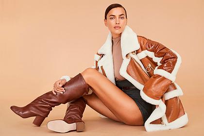Ирина Шейк снялась в откровенных нарядах для рекламы люксового бренда