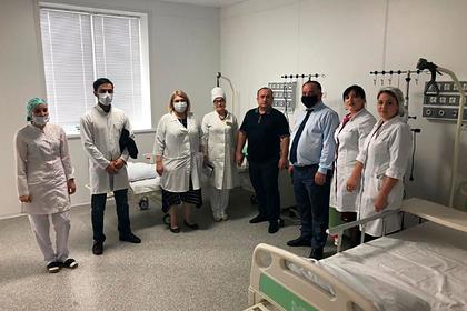 В дагестанском селе открыли многофункциональный медцентр