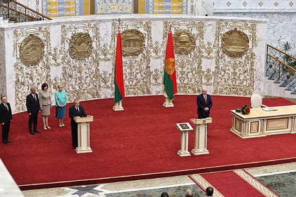 Япония оценила инаугурацию Лукашенко