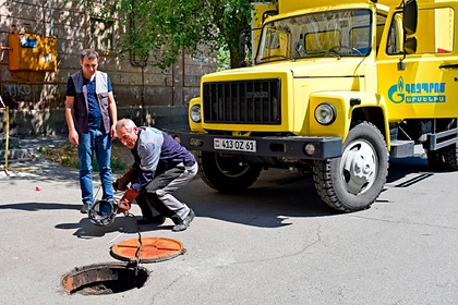 В Армении с палками и камнями напали на сотрудников «Газпрома»
