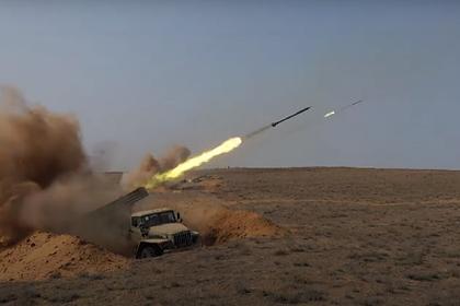Россия показала прорыв «огненным валом»