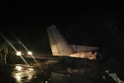 Уточнено количество погибших при крушении самолета под Харьковом