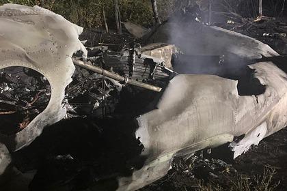 Очевидец рассказал о потерпевшем крушение на Украине самолете