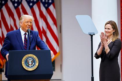 Трамп выдвинул кандидата на должность члена Верховного суда
