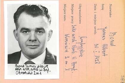 Упоминания о визите Джеймса Бонда обнаружили в польских архивах