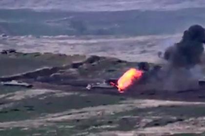 Армения рассказала о сбитых азербайджанских вертолетах