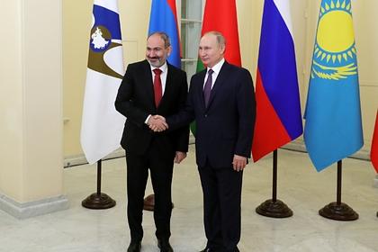 Пашинян позвонил Путину из-за ситуации в Карабахе
