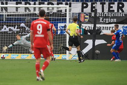 «Бавария» проиграла впервые с декабря прошлого года