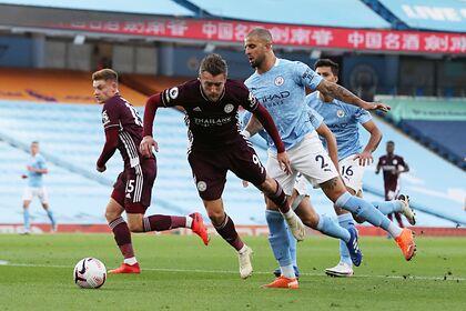 «Лестер» реализовал три пенальти и разгромил «Манчестер Сити»