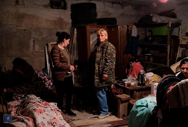 Степанакерт. В бункере