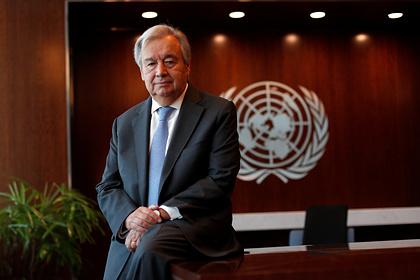 Генсек ООН поразился числу жертв коронавируса в мире