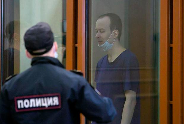 Алексей Александров на суде