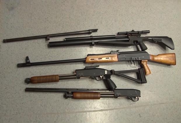 Охотничье оружие Алексея Александрова, полученное им официально