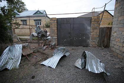 Азербайджан сообщил о 10 погибших жителях из-за обстрела со стороны Армении