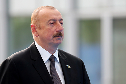 Алиев заявил обисключительно моральной поддержке Турции