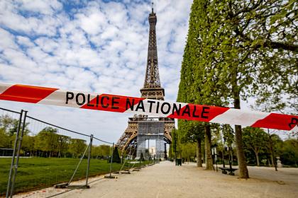 Мощный взрыв прогремел в Париже