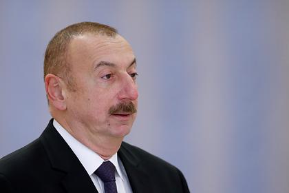 Президент Азербайджана назвал неуместными призывы к диалогу с Арменией