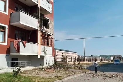 Российские и французские журналисты попали под обстрел в Нагорном Карабахе