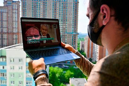 Собянин заявил об опасной динамике с коронавирусом в Москве