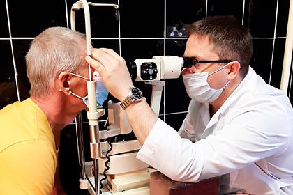 Российские врачи спасли от слепоты пациента со зрением минус45