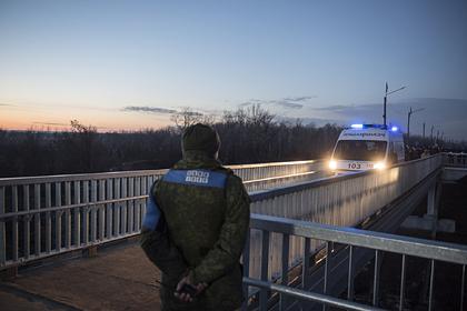 В Донбассе загорелся пункт пропуска на линии разграничения