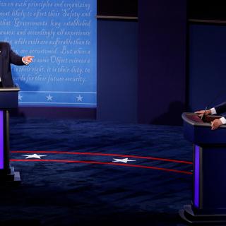 Дональд Трамп и Джо Байден