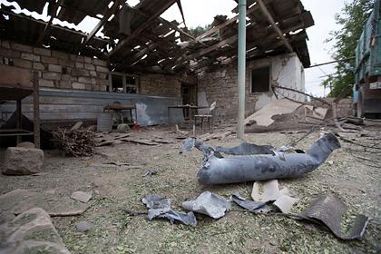 Армения заявила оготовности кпереговорам опрекращении огня вКарабахе