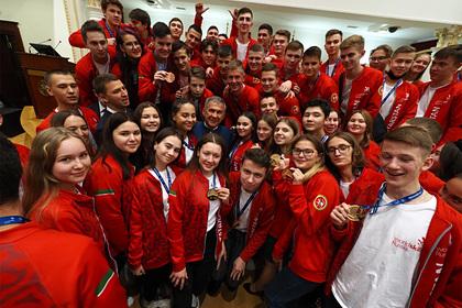 В регионах страны наградили призеров чемпионатов WorldSkills Russia 2020