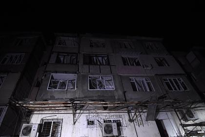Азербайджан нанес три удара тяжелыми ракетами поСтепанакерту