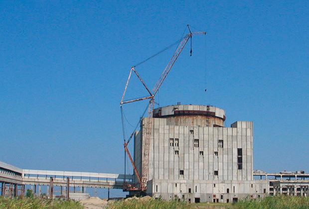 Недостроенная Крымская АЭС
