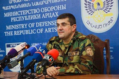 Президент Карабаха собрался напередовую