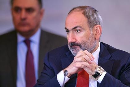 Пашинян назвал условие переговоров по Нагорному Карабаху