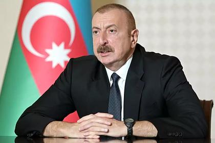 Президент Азербайджана заявил о взятии под контроль сел в Карабахе