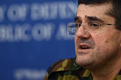 Лидер Карабаха приказал прекратить обстрел военных объектов Азербайджана