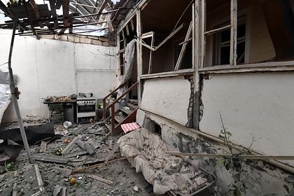 Азербайджан заявил об обстрелах двух городов армянскими военными