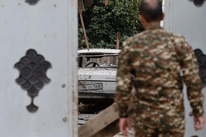 Армения заявила онеобходимости вывести третьи силы изНагорного Карабаха
