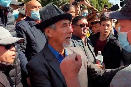 В Киргизии начались массовые протесты против «грязных выборов»