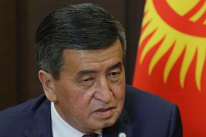 Президент Киргизии отреагировал напопытку штурма дома правительства