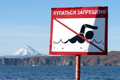 В реке наКамчатке обнаружили странные отложения