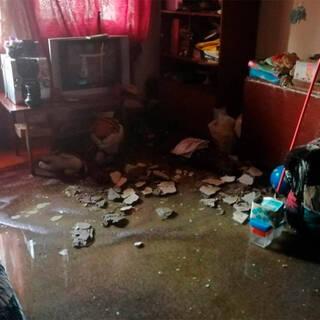 Многоквартирный дом целиком затопило в Челябинске