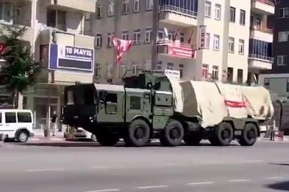 Турция перебросила С-400 к Черному морю
