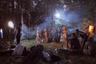 Алексей Васильев родился в Якутии и давно занимается исследованием повседневной жизни людей Крайнего Севера. В новом проекте он показал Сахавуд — якутский Голливуд. Побывав на съемочных площадках, он показал тех, кто стоит за картинами, участвующими в международных фестивалях Европы и Азии.  <br> <br> За год в Якутии снимается 7-10 полнометражных кинокартин самых разных жанров. Затраты же зачастую получаются скромными, и по меркам России в среднем производство фильма обходится в 1-2 миллиона рублей. Большинство режиссеров не имеют специального образования, а для некоторых это даже не основной способ заработка.  <br> <br> На фото — момент во время съемок фильма по мотивам якутской народной сказки «Старушка Бэйбэрикээн с пятью коровами».