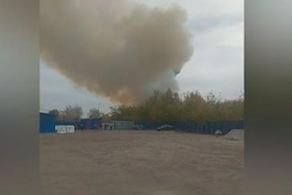 Губернатор оценил масштаб пожара на военном складе под Рязанью