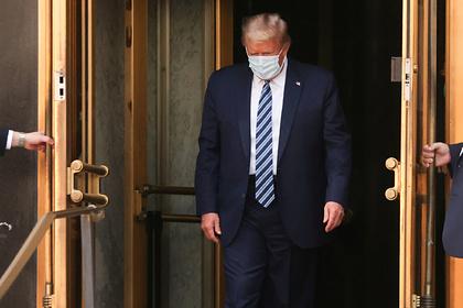 Подсчитана стоимость лечения Трампа откоронавируса