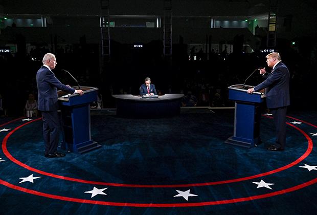 Дебаты Трампа и Байдена в Кливленде
