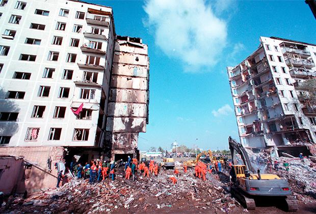 Последствия теракта на улице Гурьянова в Москве, 10 сентября 1999 года