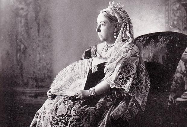 Королева Виктория в день бриллиантового юбилея своего правления, 1897 год