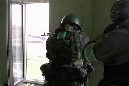 В Чечне ликвидировали двух вооруженных боевиков