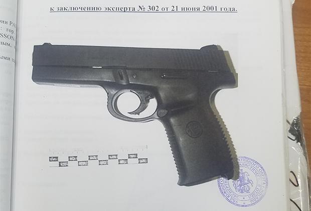 Пистолет Захарова